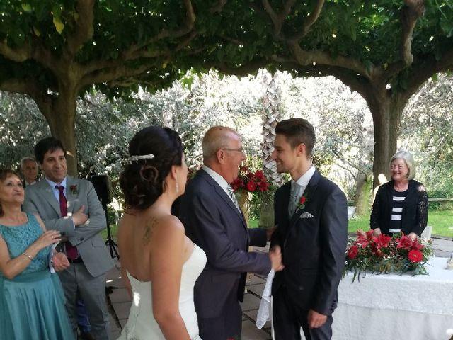 La boda de Gaby y Xey  en Sant Vicenç De Montalt, Barcelona 2