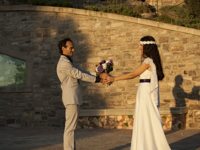 La boda de Cristina y Óscar en Vilagrassa, Lleida 2