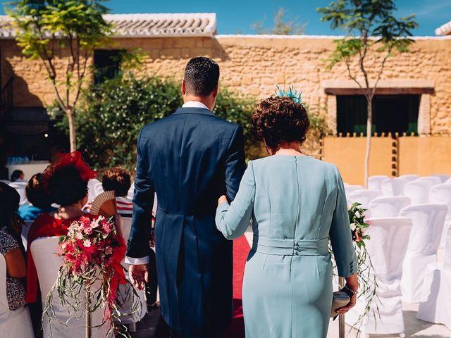 La boda de Fran y Maria José en Osuna, Sevilla 31
