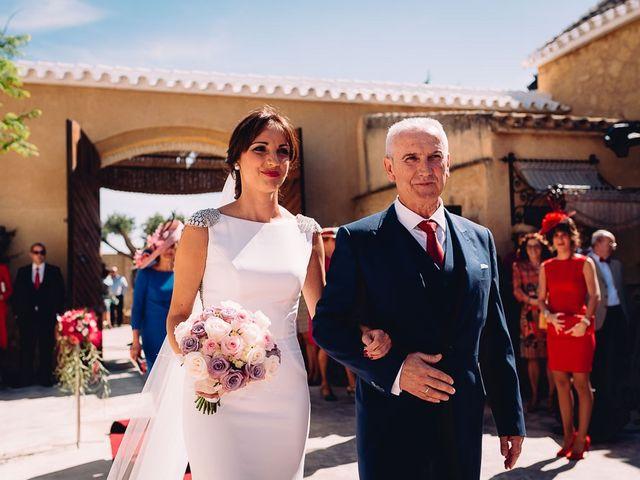 La boda de Fran y Maria José en Osuna, Sevilla 33