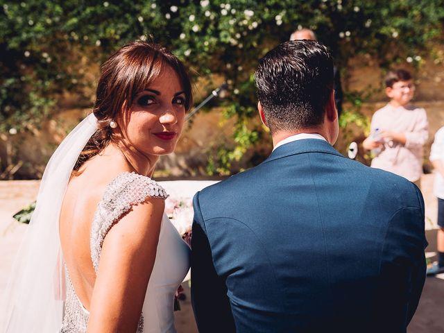 La boda de Fran y Maria José en Osuna, Sevilla 35