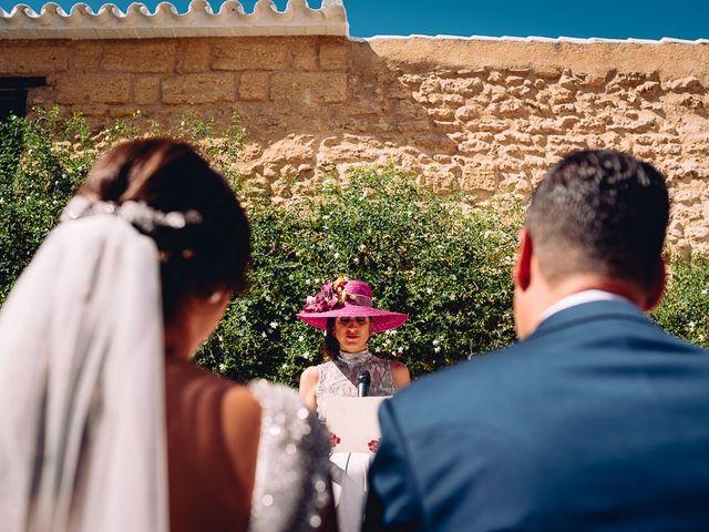 La boda de Fran y Maria José en Osuna, Sevilla 39