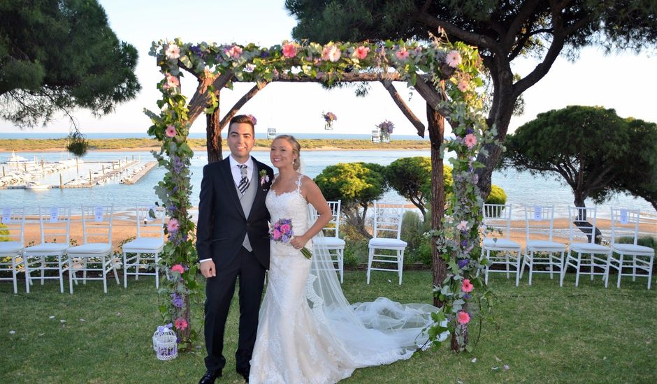 La boda de Paco y Elena en El Rompido, Huelva
