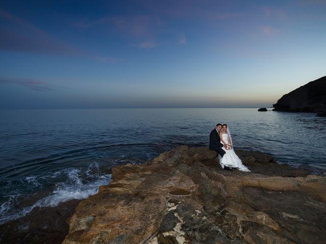 La boda de Antonio y Ana en La/villajoyosa Vila Joiosa, Alicante 44