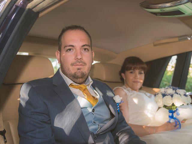 La boda de Emilio y Noemi en Yunclillos, Toledo 17