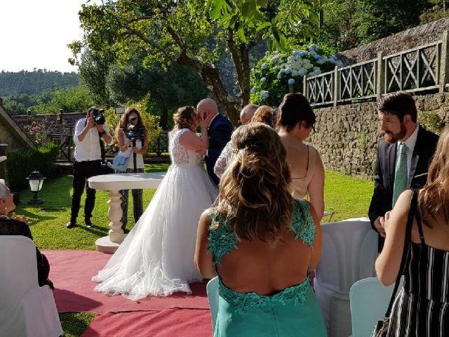 La boda de Carlos y Noemí en Teo, A Coruña 1
