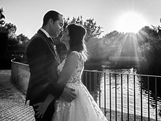 La boda de Carlos y Marta en Villanueva De Gallego, Zaragoza 32
