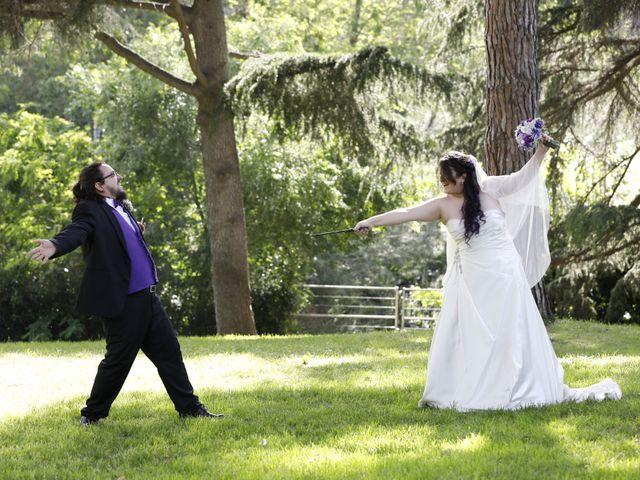 La boda de David y Mireia en Montserrat (Monestir), Barcelona 1