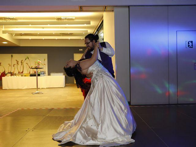 La boda de David y Mireia en Montserrat (Monestir), Barcelona 11