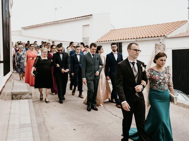 La boda de Alberto y Ara en Trasierra, Badajoz 49