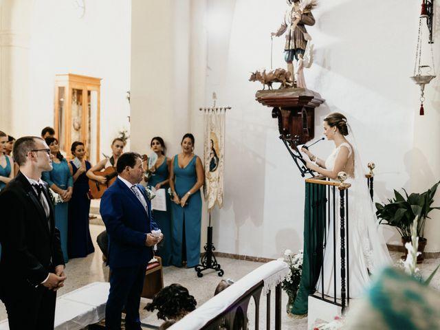 La boda de Alberto y Ara en Trasierra, Badajoz 77
