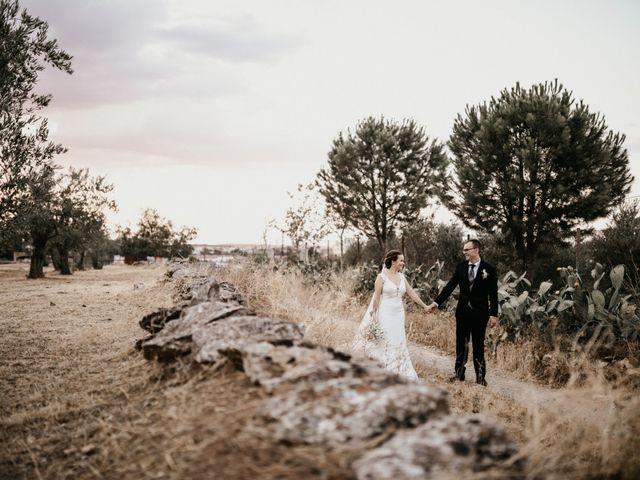 La boda de Alberto y Ara en Trasierra, Badajoz 100
