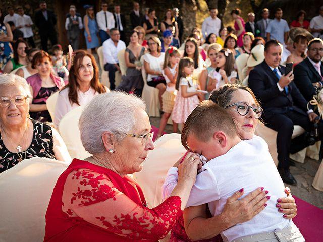 La boda de Beatriz y Joaquín en Logrosan, Cáceres 17