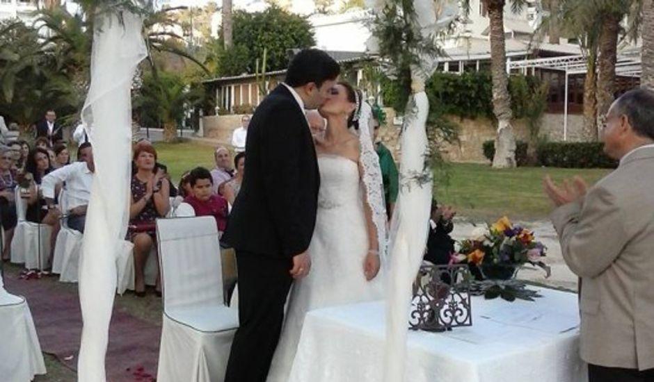 La boda de Antonio y Ana en La/villajoyosa Vila Joiosa, Alicante