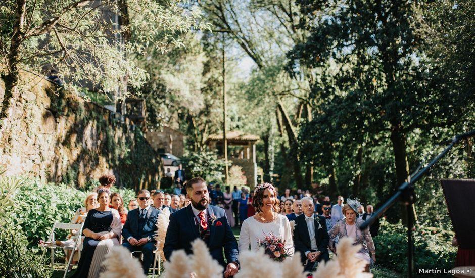 La boda de Martín y Mariana en Rois, A Coruña