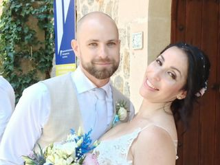 La boda de Katherin  y Adam
