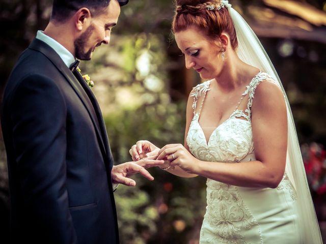 La boda de Roxana y David