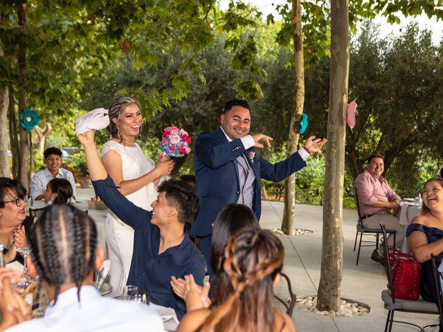 La boda de Cristhian y Katia en Sant Cugat Sesgarrigues, Barcelona 19