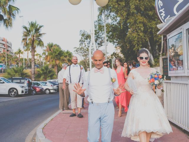 La boda de Adrián y Angie en Benalmadena Costa, Málaga 24