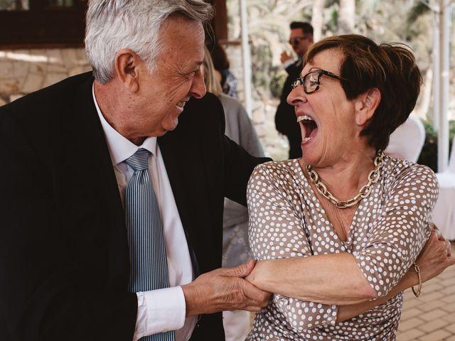 La boda de Pablo y Franzis en La/villajoyosa Vila Joiosa, Alicante 49