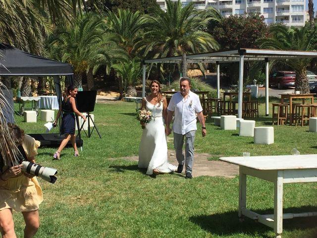 La boda de Eduardo y Paula en La/villajoyosa Vila Joiosa, Alicante 4