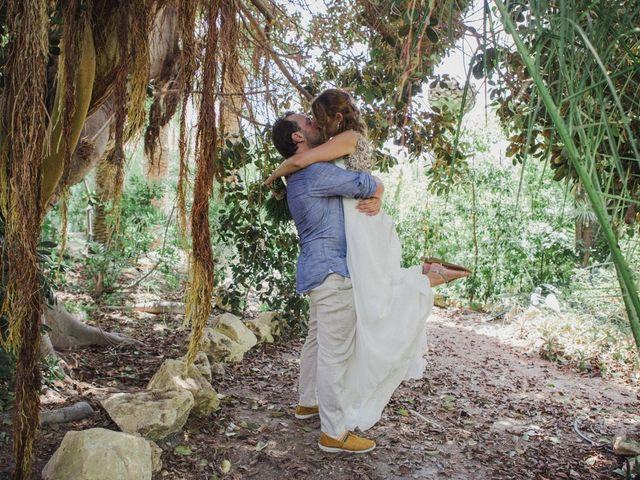 La boda de Eduardo y Paula en La/villajoyosa Vila Joiosa, Alicante 2