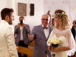 La boda de Raffaella y Massimo
