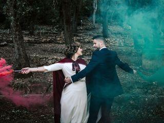 La boda de Atenea y David