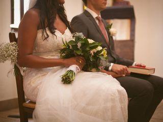 La boda de Janine y Alexander