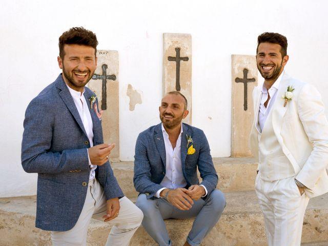 La boda de Massimo y Raffaella en Es Pujols/els Pujols (Formentera), Islas Baleares 8