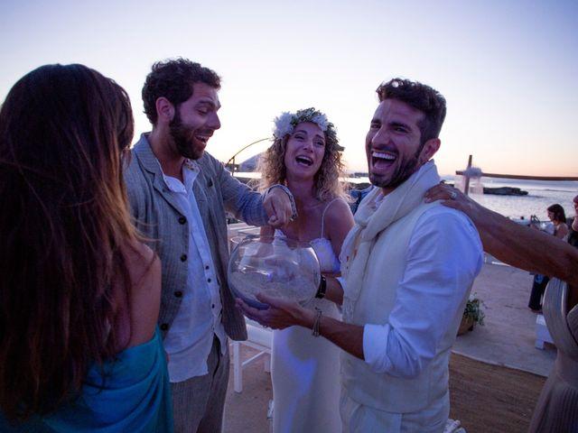 La boda de Massimo y Raffaella en Es Pujols/els Pujols (Formentera), Islas Baleares 22