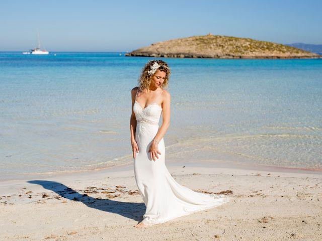 La boda de Massimo y Raffaella en Es Pujols/els Pujols (Formentera), Islas Baleares 30