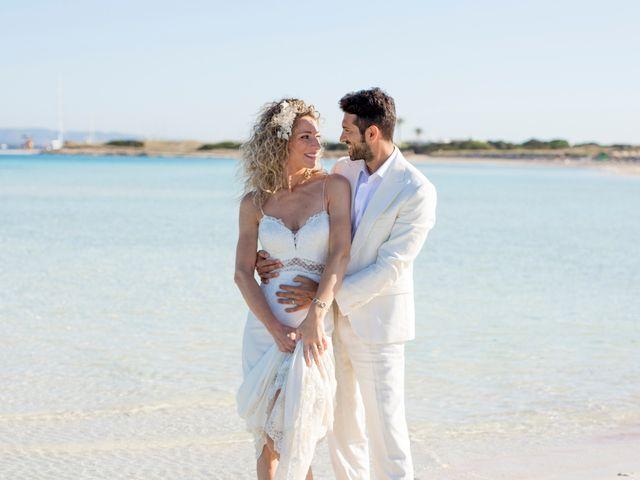 La boda de Massimo y Raffaella en Es Pujols/els Pujols (Formentera), Islas Baleares 31