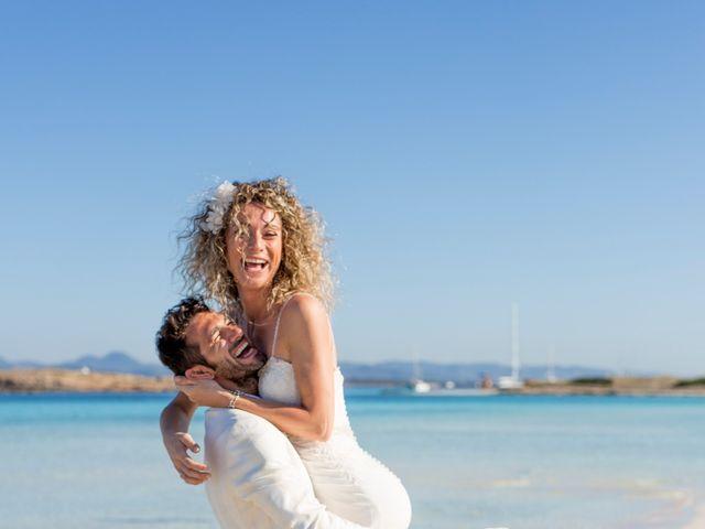 La boda de Massimo y Raffaella en Es Pujols/els Pujols (Formentera), Islas Baleares 36