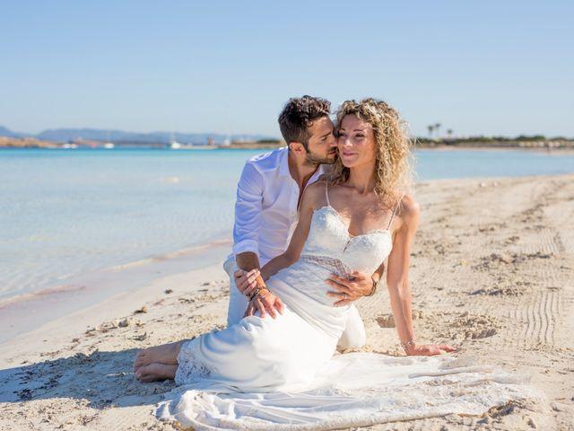 La boda de Massimo y Raffaella en Es Pujols/els Pujols (Formentera), Islas Baleares 37
