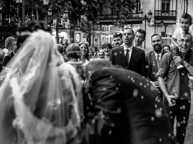 La boda de Daniel y Vanesa en Zaragoza, Zaragoza 24