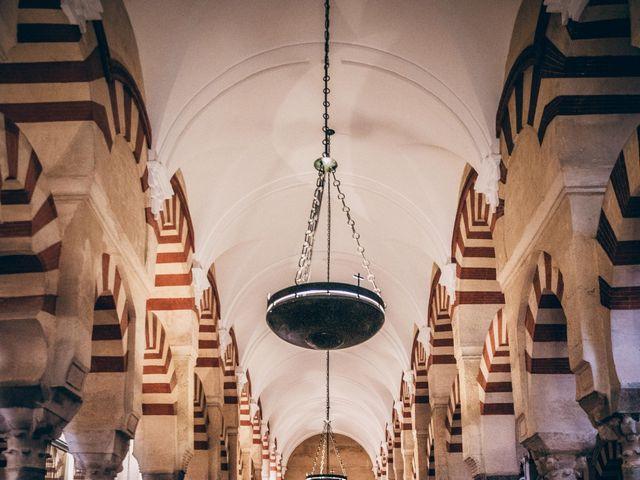 La boda de David y Estíbaliz en Córdoba, Córdoba 17
