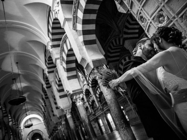 La boda de David y Estíbaliz en Córdoba, Córdoba 18