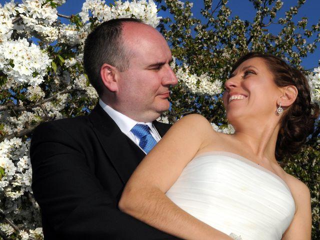 La boda de Víctor y Sonia en Valdastillas, Cáceres 13