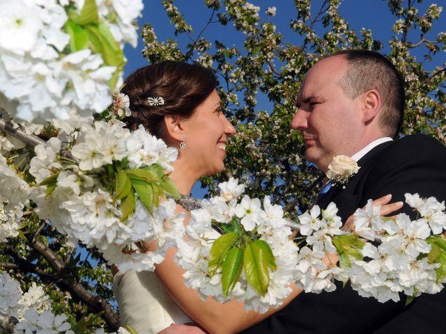 La boda de Víctor y Sonia en Valdastillas, Cáceres 15