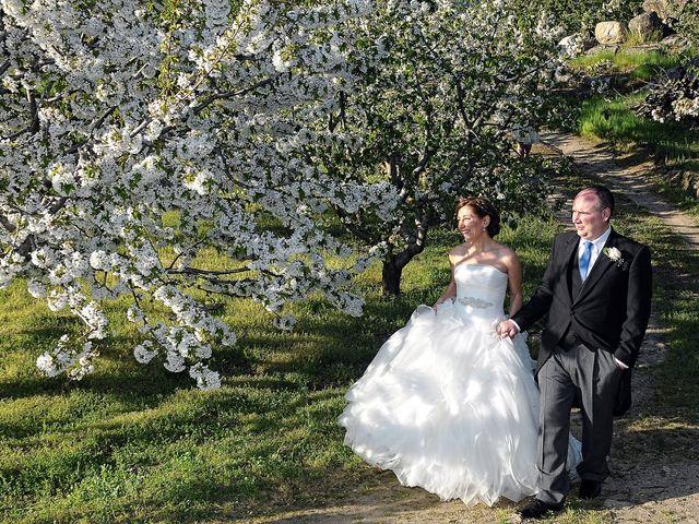 La boda de Víctor y Sonia en Valdastillas, Cáceres 19