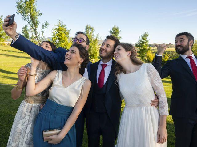 La boda de Javier y Beatriz en Madrona, Segovia 42