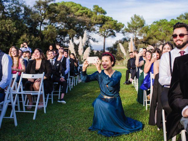 La boda de Riky y Maria en Sant Pere De Vilamajor, Barcelona 77