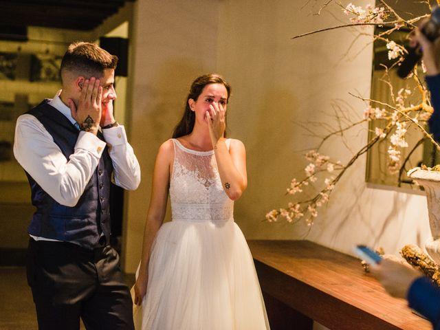 La boda de Riky y Maria en Sant Pere De Vilamajor, Barcelona 139