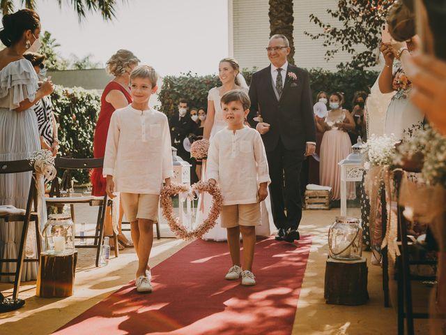 La boda de Marc y Sara en Benicàssim/benicasim, Castellón 16