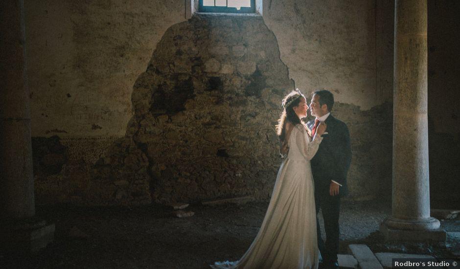 La boda de Antonio y Lourdes en Aliseda, Cáceres