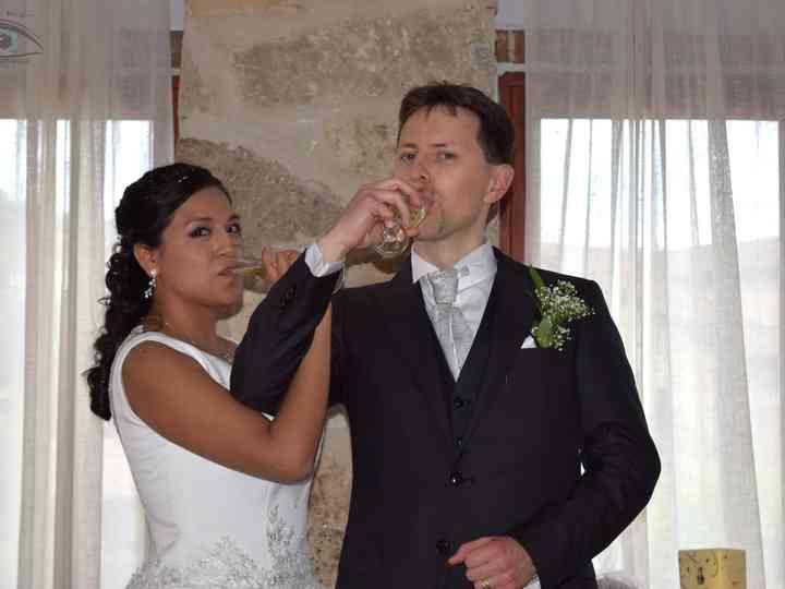 La boda de Paola y Luca