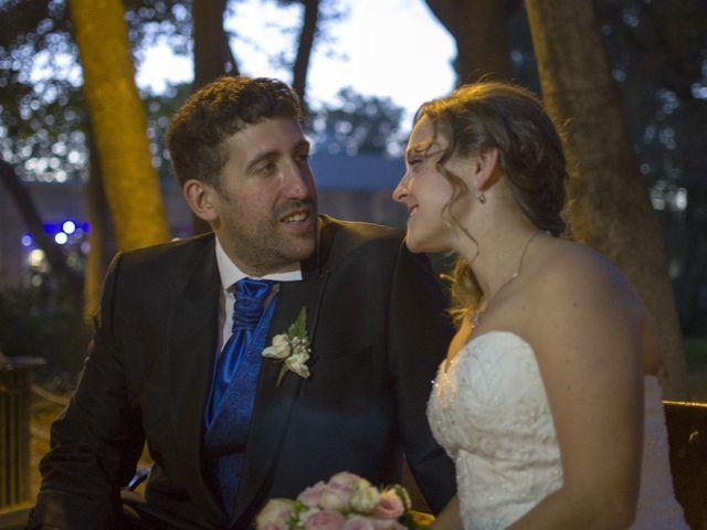La boda de Cristina Carvajal Zamorano y Antonio Calvo Santamaría
