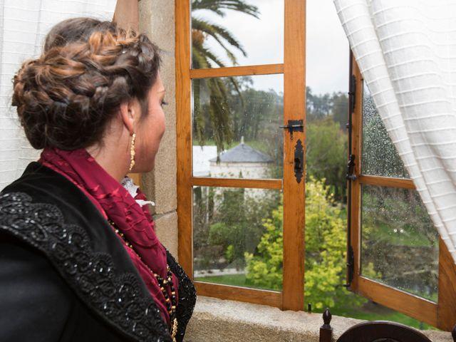 La boda de Javier y Eva en Galdo (Santa Maria), Lugo 11