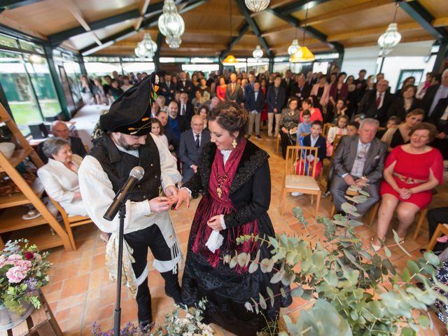 La boda de Javier y Eva en Galdo (Santa Maria), Lugo 15
